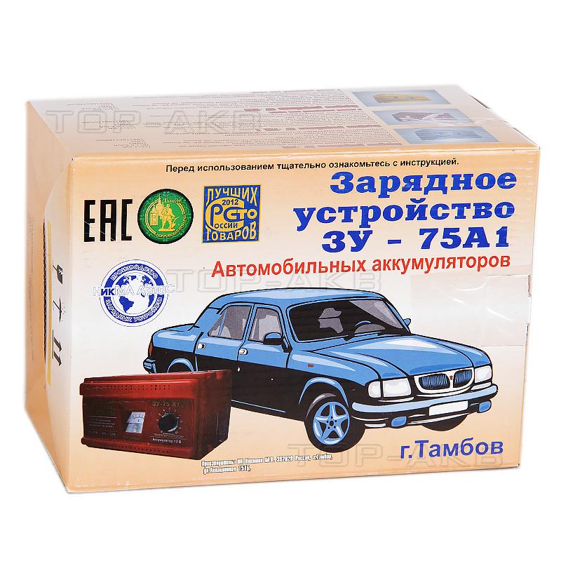 Купить Зарядное устройство Ника АнтаС ЗУ 75А1 (трансформаторное) с доставкой по Москве и МО