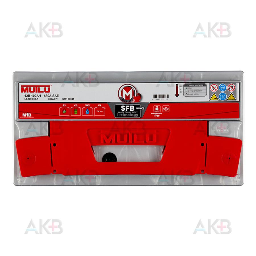 Автомобильный аккумулятор Mutlu SFB 2 60044 100 Ач 830A обр. пол. (353x175x190) L5.100.083.A