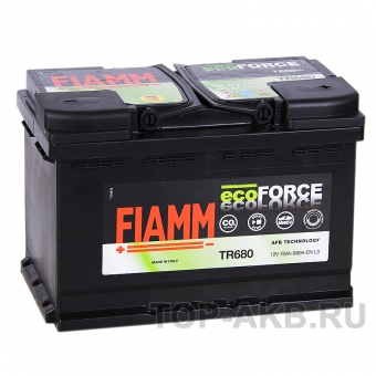 Fiamm Ecoforce AFB 70R 680A (278x175x190) EFB Start-Stop TR680