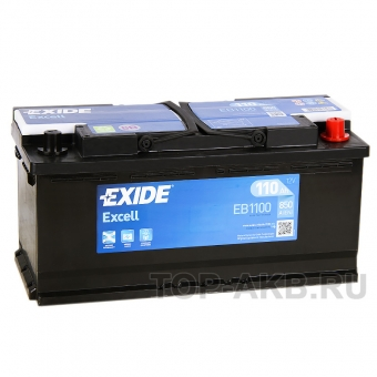 Exide Excell 110R (850A 393x175x190) EB1100