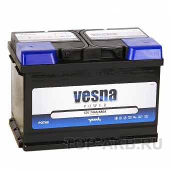 Vesna Power 74L (680A 278x175x190) 415374 57413