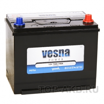 Vesna Power 75R (740A 261x173x225) 415875 57529