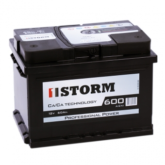 Storm Professional Power 60R низкий 600A 242x175x175