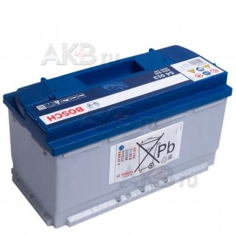 Автомобильный аккумулятор Bosch S4 013 95R 800A 353x175x190. Фото 2