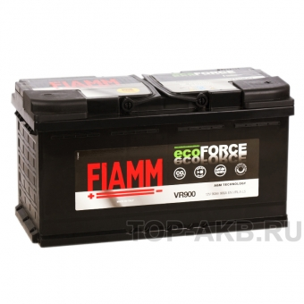 Fiamm Ecoforce AGM 90R 900A 353x175x190 (L5) Start-Stop VR900